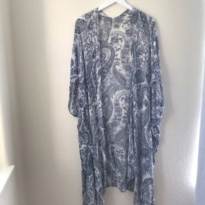 LoveStitch Long Swim Coverup